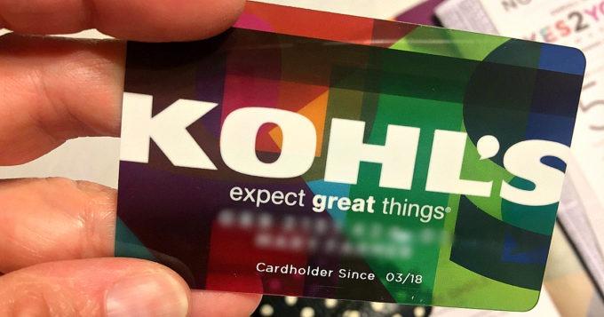 Kohls Credit Card 2018