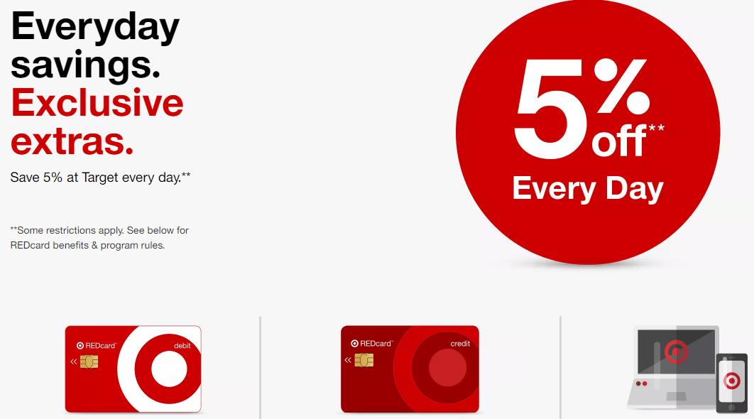target credit card 2018
