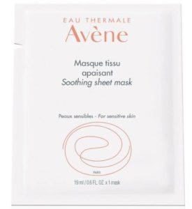 4. Avène Soothing Sheet Mask