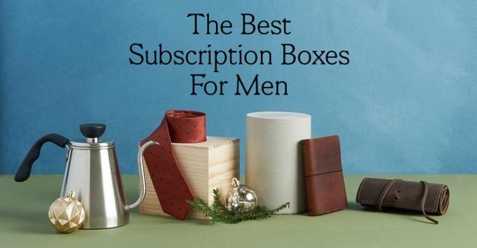 Best Subscription Boxes for Men