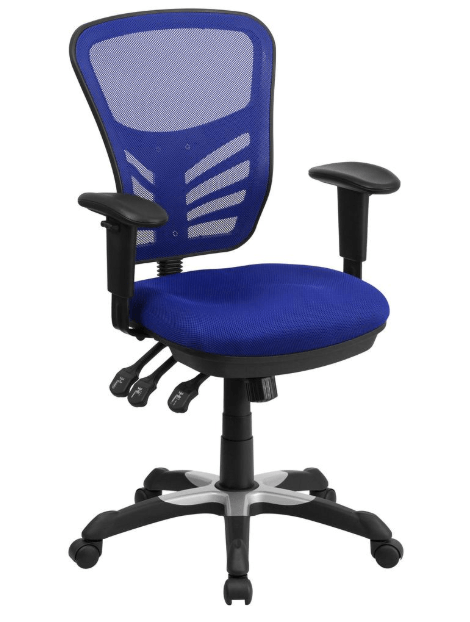 Flash Furniture - Mesh Office Chair with Triple Paddle Control