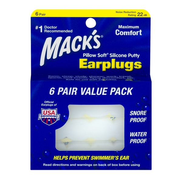 6.Mack's Pillow Soft Silicone Putty