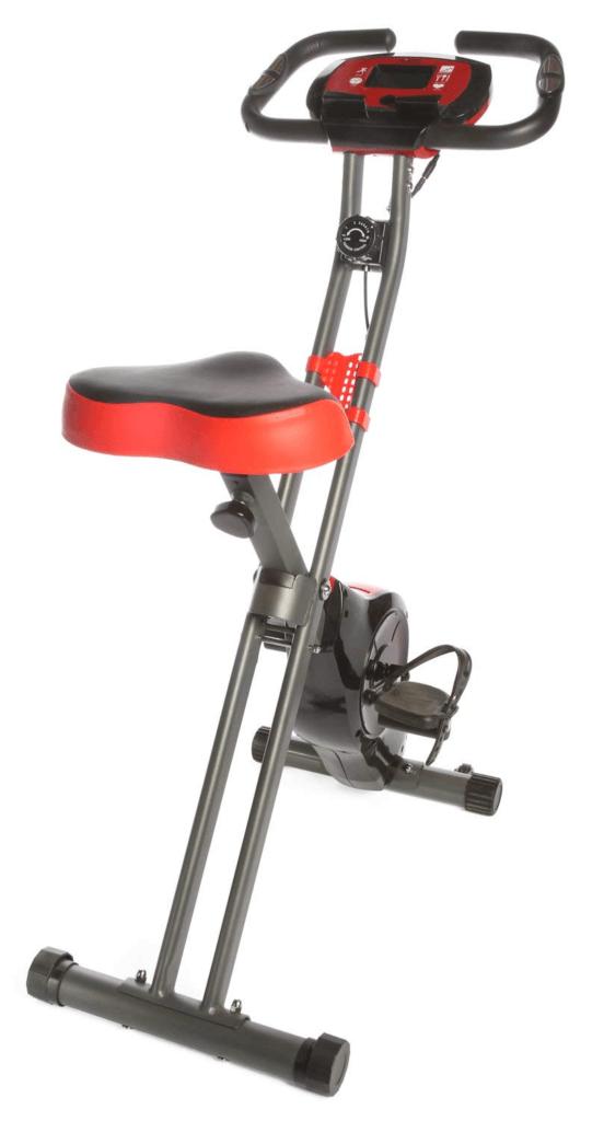 Ivation Exercise Upright Magnetic Folding Bike