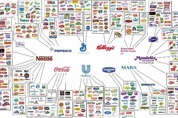 Major Shopping Brands
