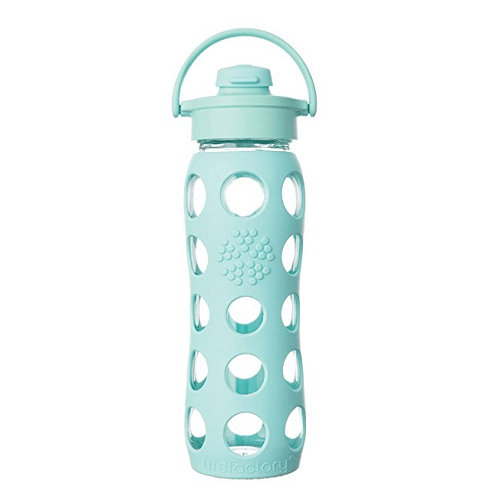5. Lifefactory Glass Water Bottle