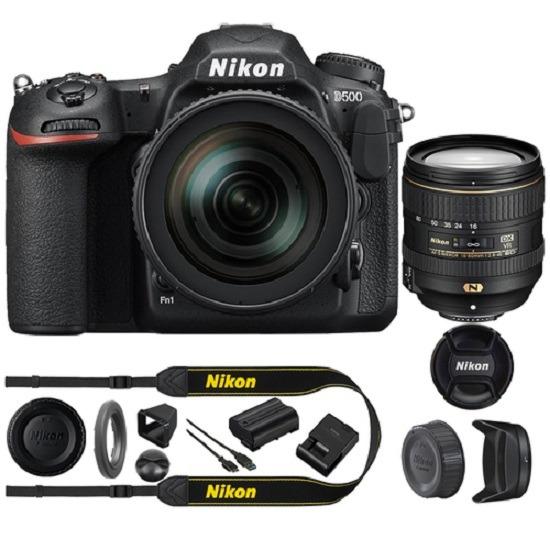 Nikon D500 DX-Format DSLR