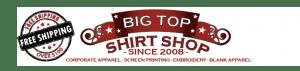 Discount Codes for Big Top Shirt Shop