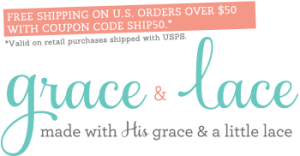 Grace And Lace free shipping coupons