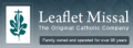 Leaflet Missal Company free shipping coupons