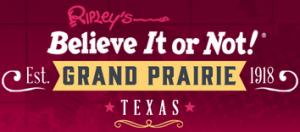 Ripley's Grand Prairie Promo Codes