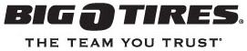 Big O Tires free shipping coupons
