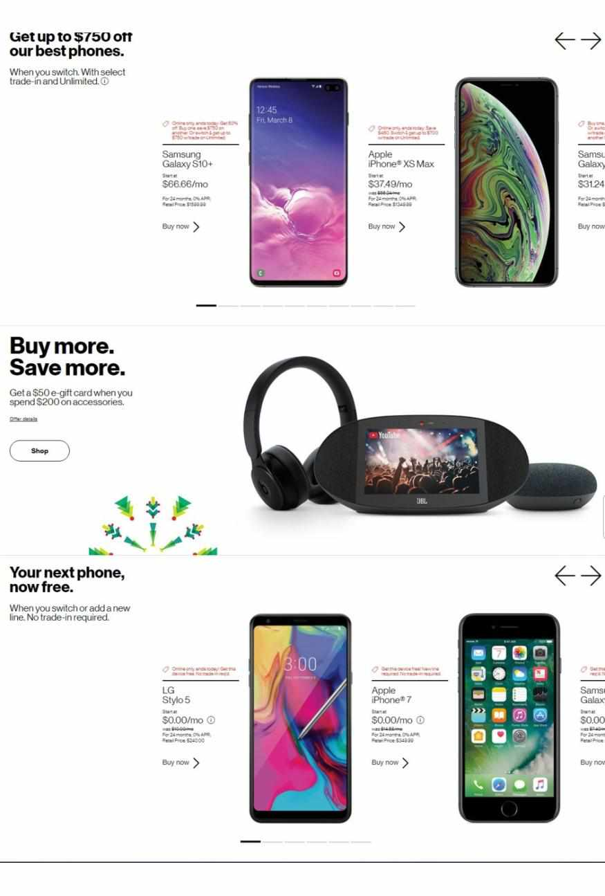 Verizon Wireless weekly ad for 18/01/2021-24/01/2021