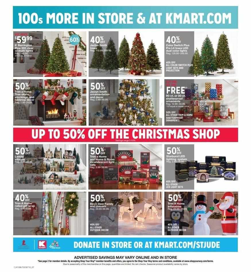 Kmart weekly ad for 11/01/2021-17/01/2021