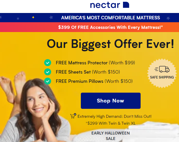 NectarSleep Coupon