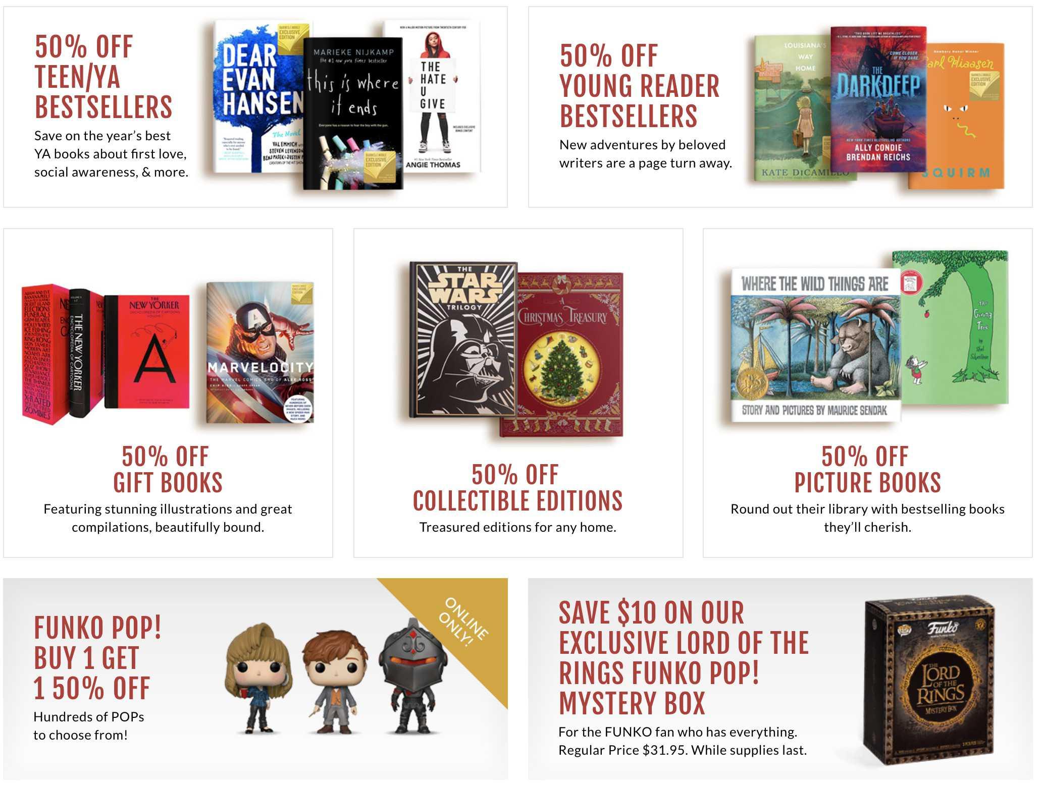 Barnes & Noble black friday ad 2021