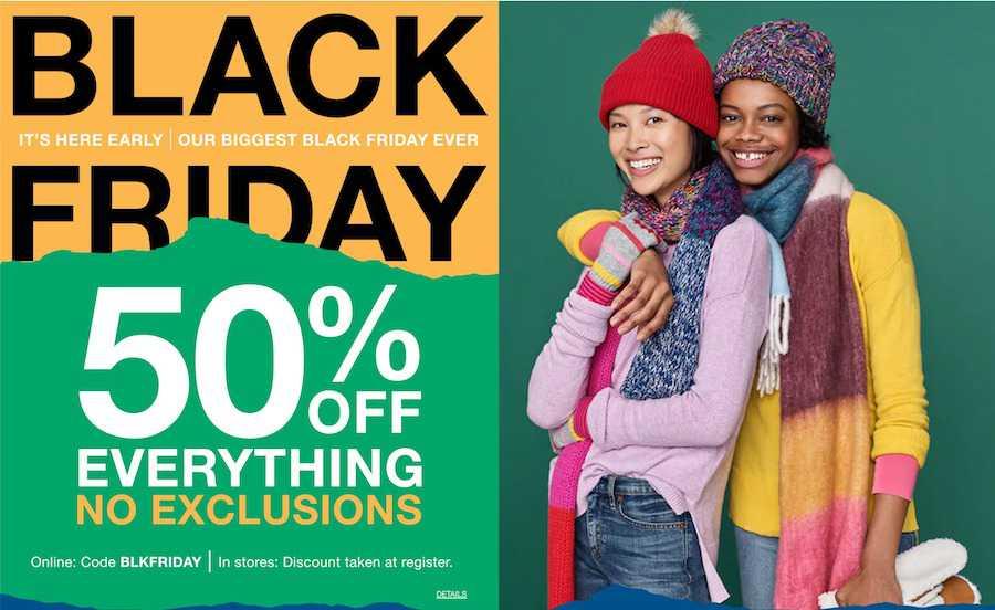 Gap black friday ad 2021