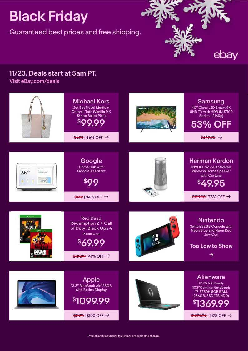 EBay weekly ad for 18/01/2021-24/01/2021