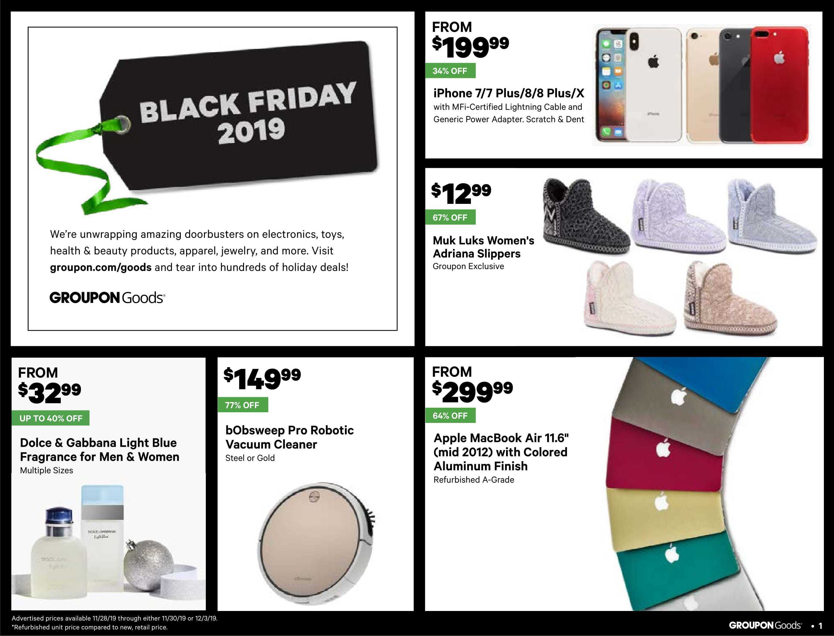 Groupon weekly ad for 11/01/2021-17/01/2021