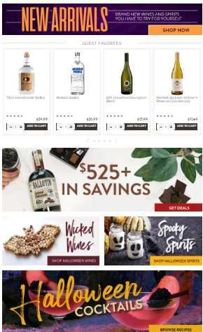 ABC Liquor black friday ad 2021