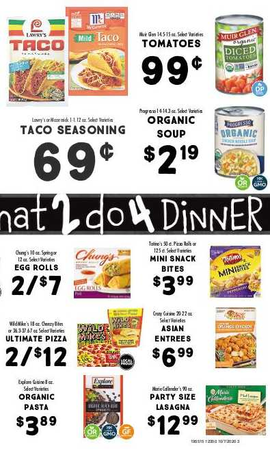 The Fresh Market weekly ad for 18/10/2021-24/10/2021