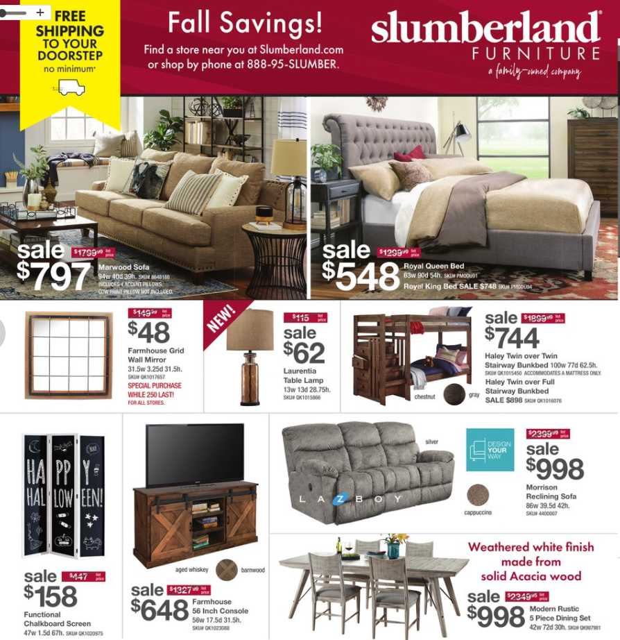 Slumberland Black Friday Ads , Weekly Ads & Flyers For 2021
