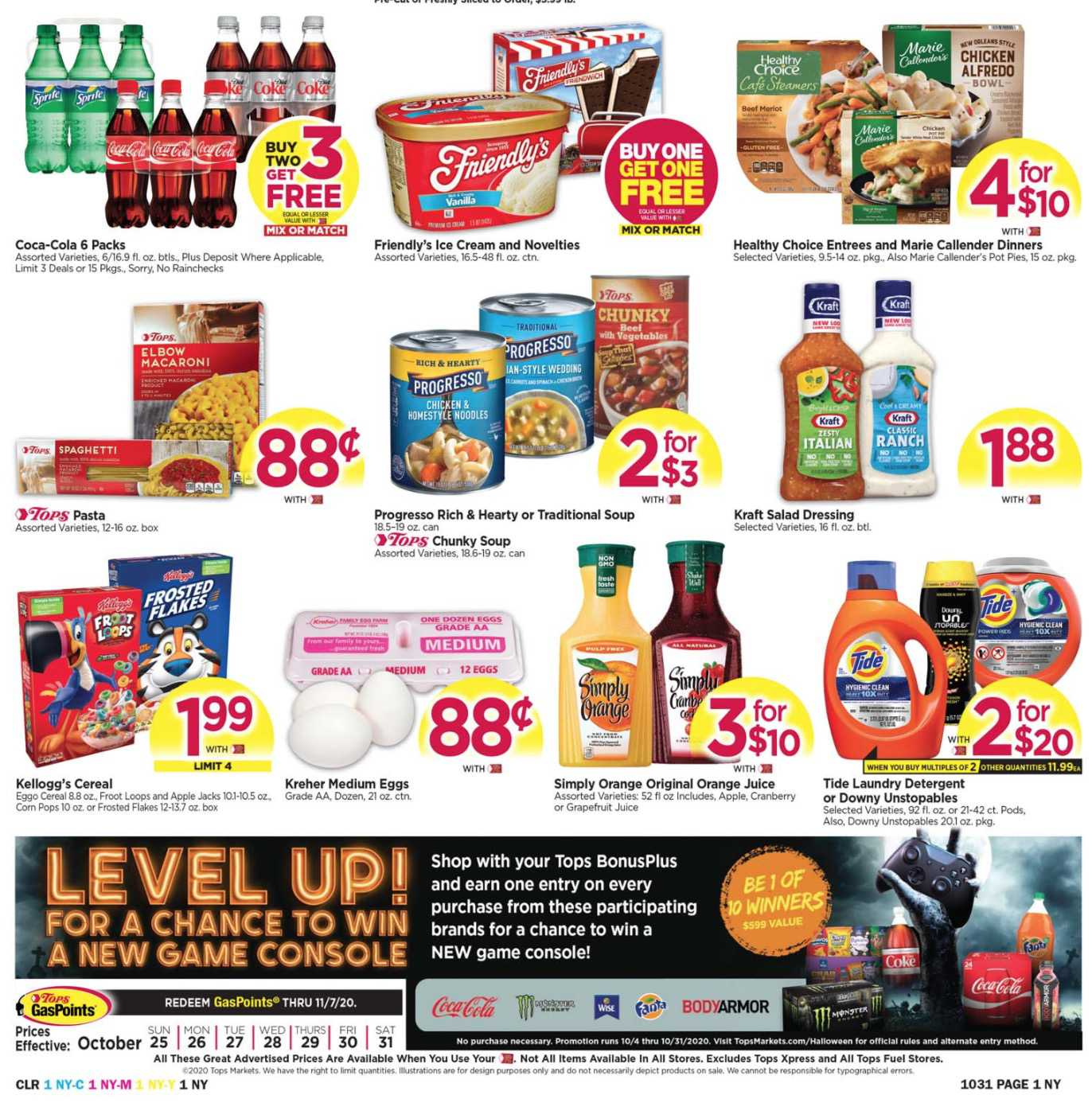 TOPS weekly ad for 19/07/2021-25/07/2021