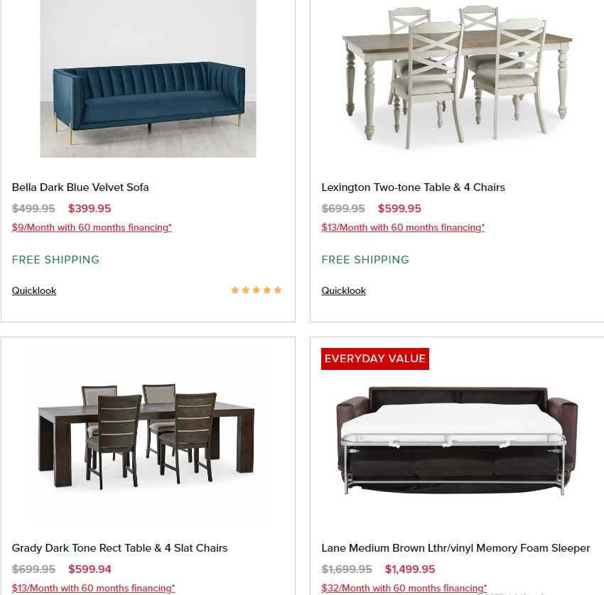 City Furniture weekly ad for 20/09/2021-26/09/2021