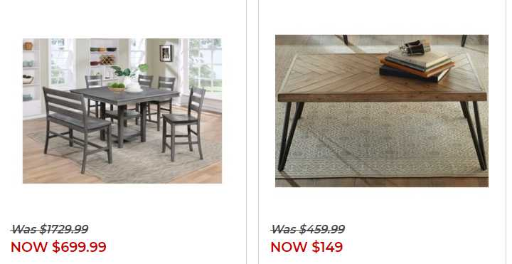 Furniture Fair weekly ad for 20/09/2021-26/09/2021