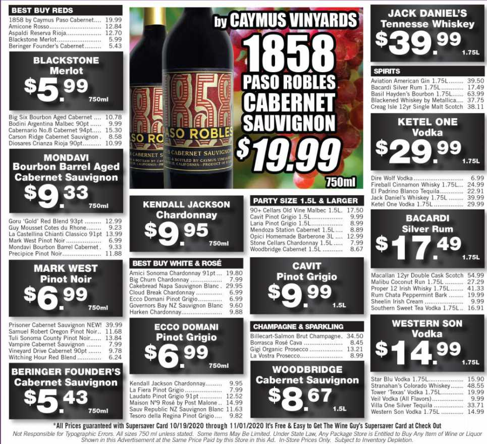 The Wine Guy weekly ad for 27/09/2021-03/10/2021