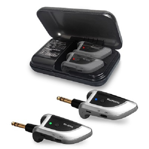 Save 30% Wireless Guitar Transmitter Receiver With Charging Case