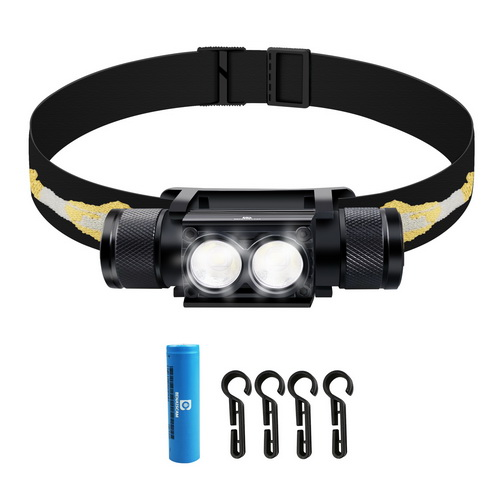 BENAISCAM 800 lumens 18650 Hardhat Headlamps