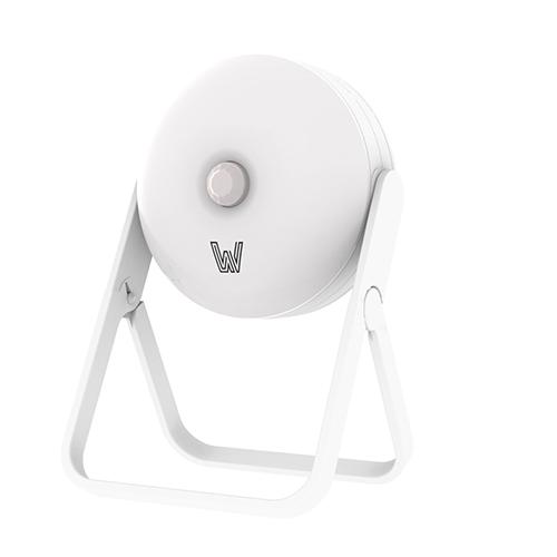 WFV Motion Sensor Night Light,360°Rotating Motion Detector Night Light with Stand,Daylight White,0.3W,21-30LM