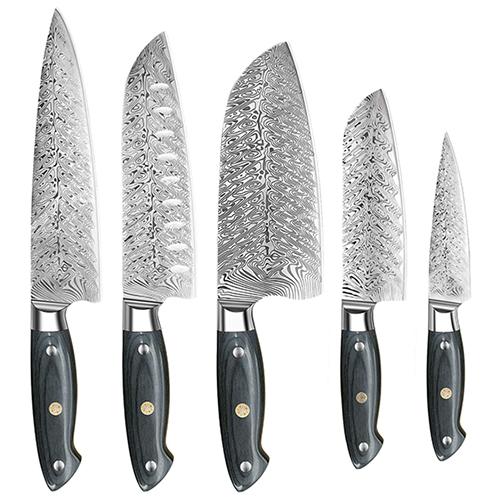 Dfito 5-Piece Kitchen Knife Set