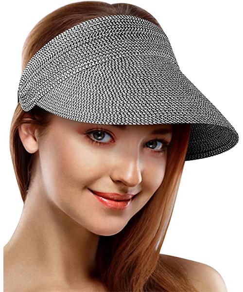 Sun Visors for Women Straw Hats Beach Sun Visors Hats