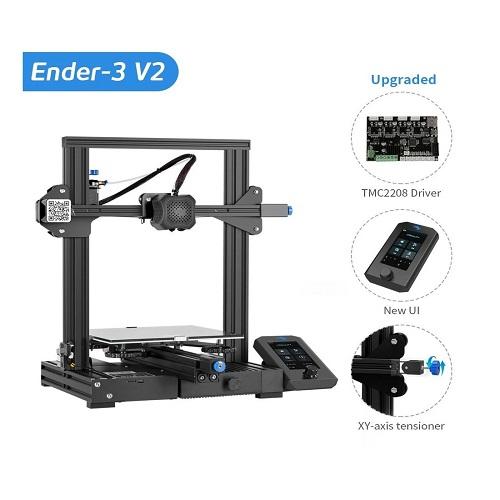 $195.3 Creailty Ender 3 V2 Pro 3D Printer 30%off promo code