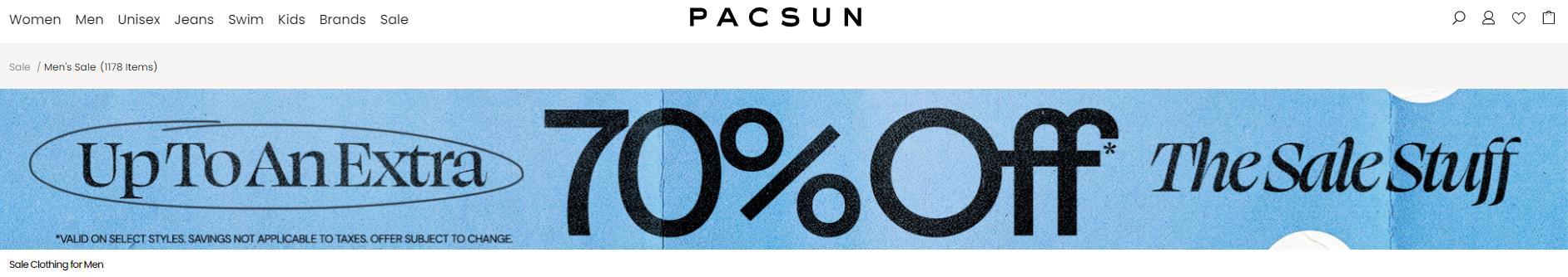 PacSun Promo Codes