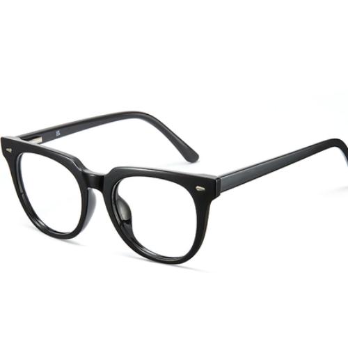 Cyxus Blue Light Glasses Women, Stylish Round Frame, Blocking 99% Harmful Blue Light in Computer, PC, TV