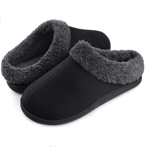 Homitem Men's Cozy Memory Foam House Slippers 60% off