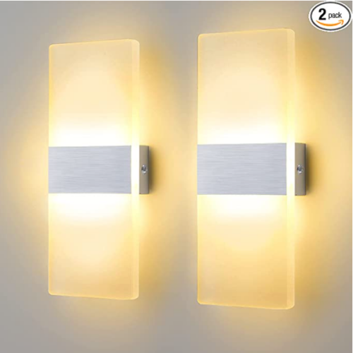 Modern Wall Sconces Set of Two 50% OFF