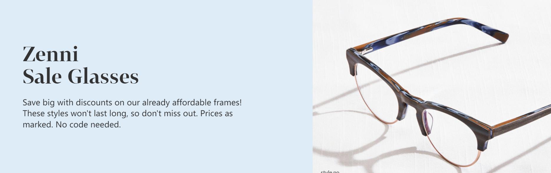 Zenni Optical Promo Codes