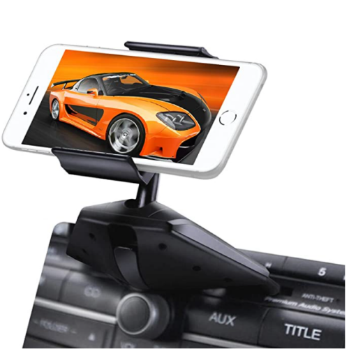 $8.39 Upgraded Phone Holder, 360° rotation, One Button Installation, CD Slot 40% OFF