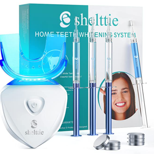 teeth whitening kit with led light 55% off