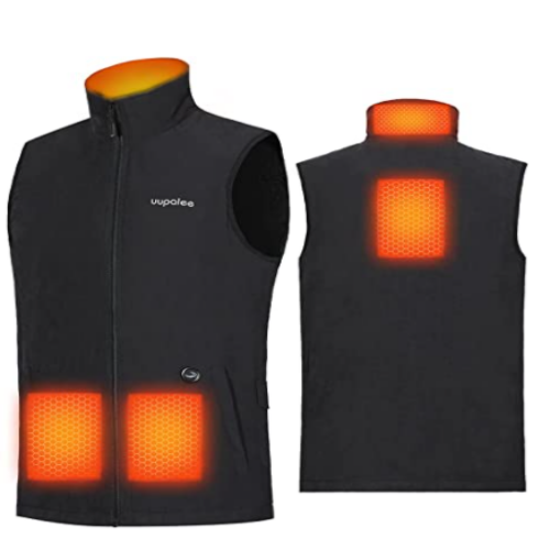 uupalee 2021 men's lightweight heated vest (with battery) 50% off