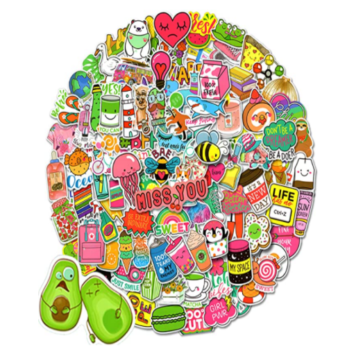100-200pcs stickers pack 50% off