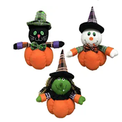 Pumpkin Gnomes Plush with Witch 3PCS 30% off