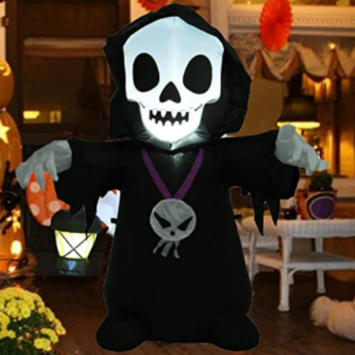 4 FT Halloween Ghost Inflatable Scary Decorations 50% off