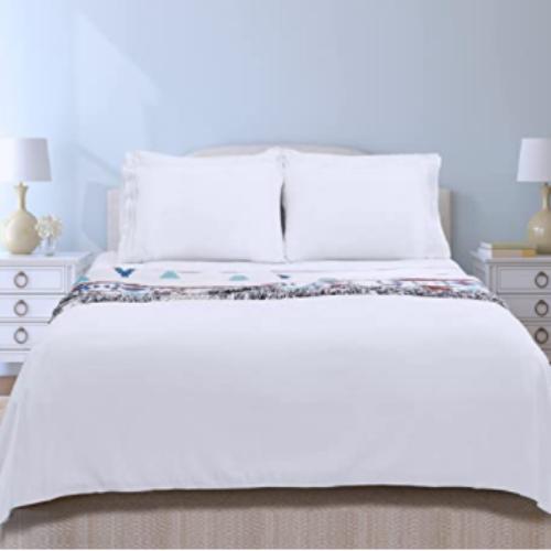 Bed Sheets Set, 16-inch Deep Pocket Sheet, 4 Piece66% off