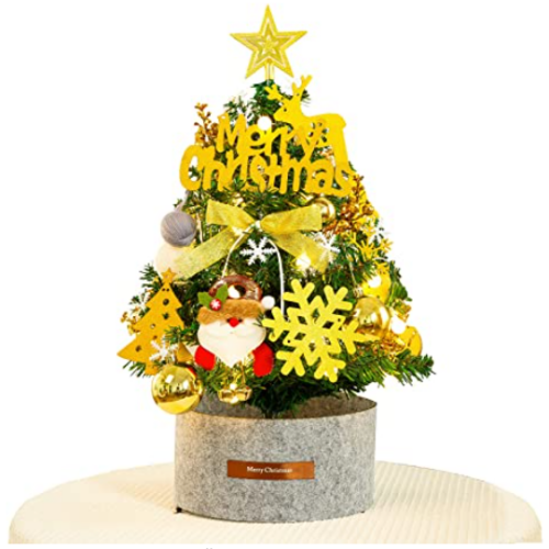 Pre-Lit Artificial Potted Christmas Tree 30% off