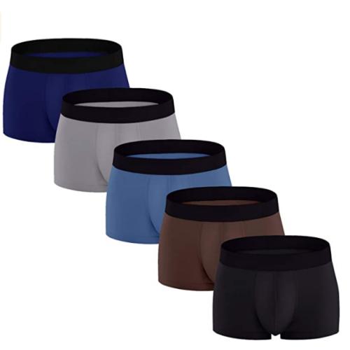 5 pack mens boxer briefs underwear 50% OFF