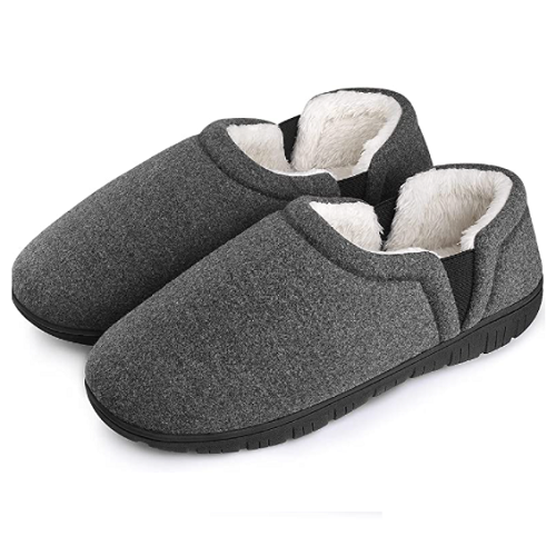 Homitem Men's House Slippers with Cozy Memory Foam 50% off